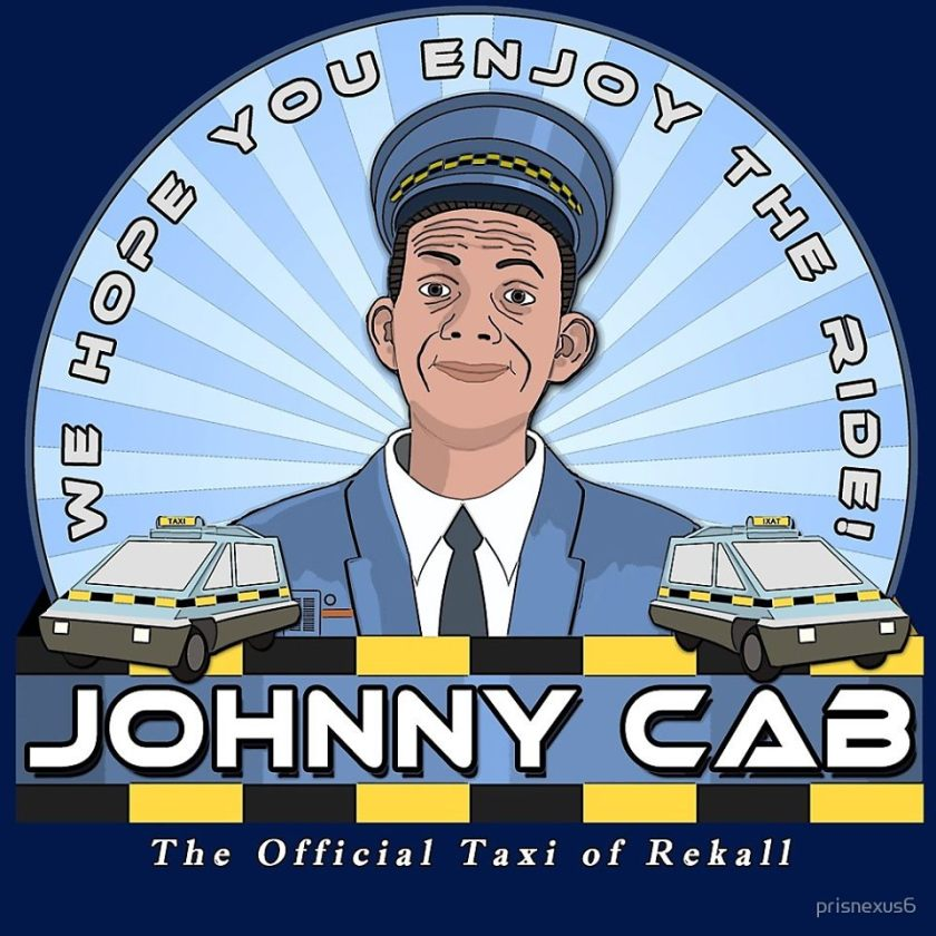 3 Johnny Cab Open