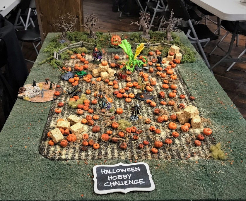 12 on Hobby Challenge table