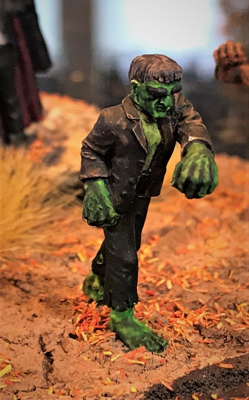 4 Frankenstein's Monster mounted