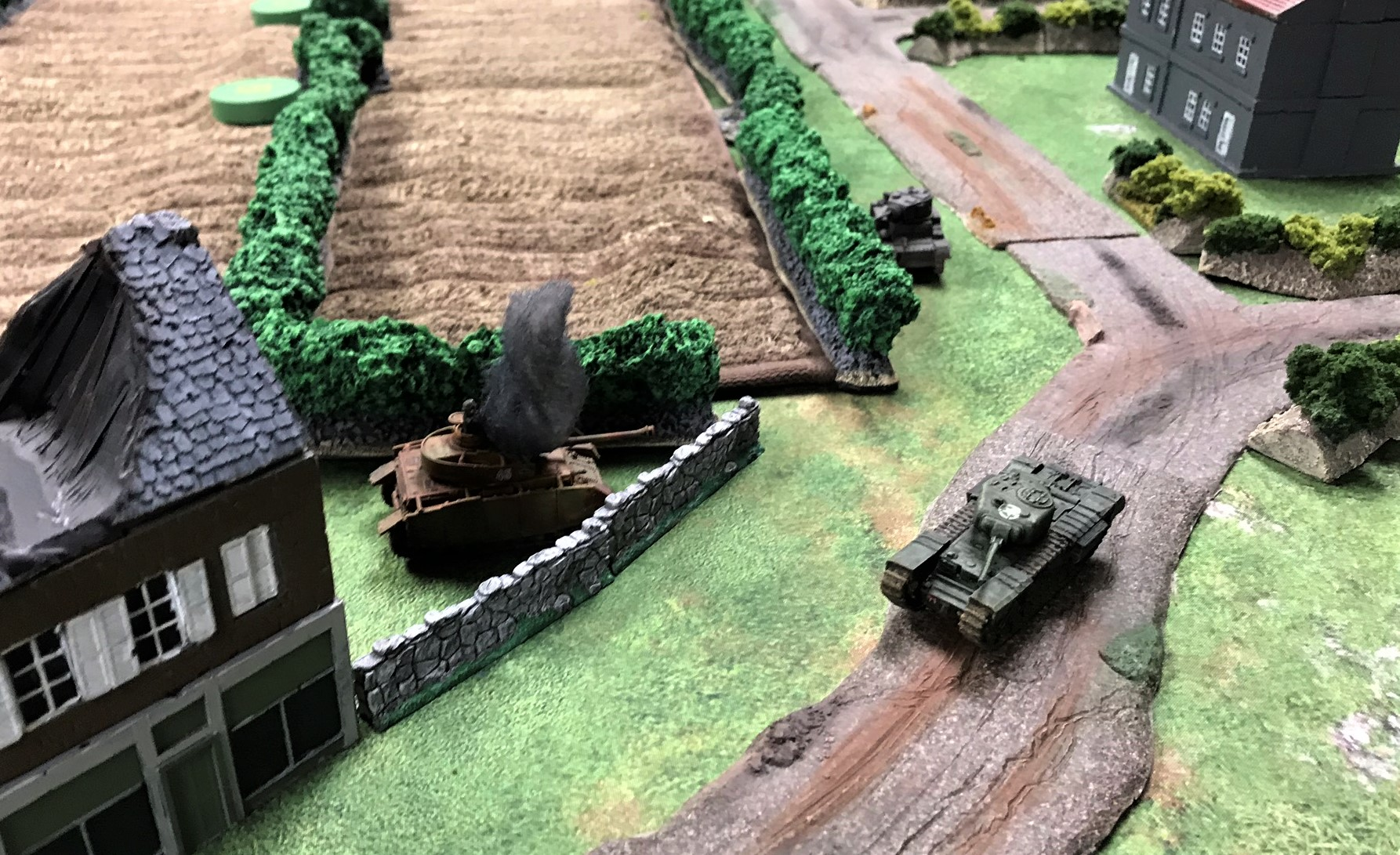 2 Churchill takes out Pzkw IVH
