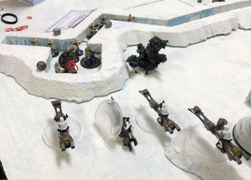 33 Battle of Hoth Speeders