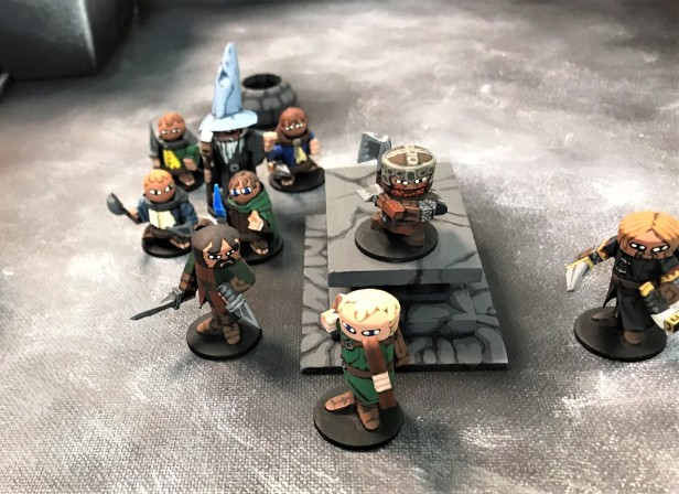 38 Home made minis dungeon crawl