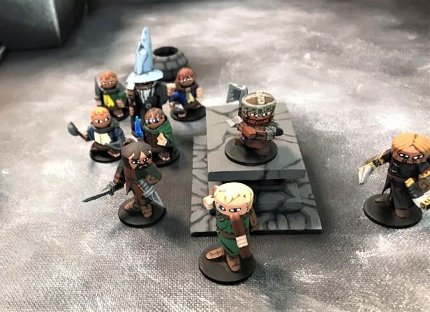 38 Home made minis dungeon crawl