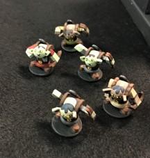 39 Home made minis dungeon crawl