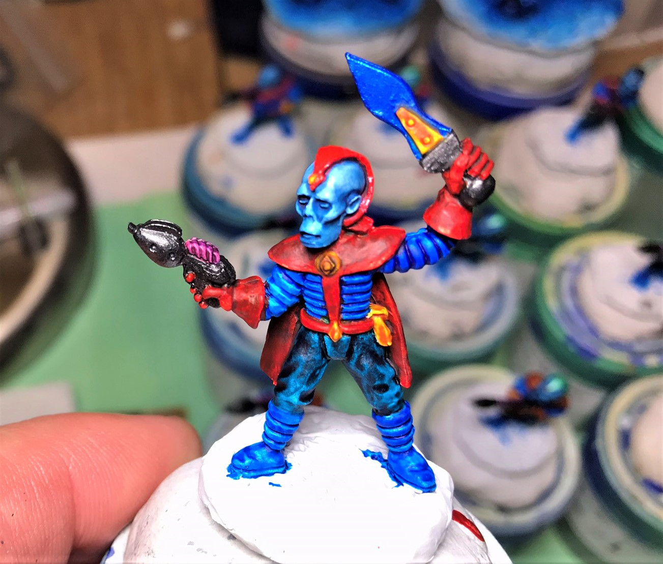 11 Retrovian Captain progress