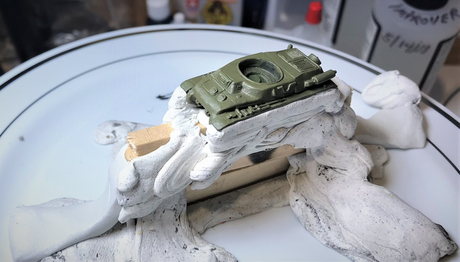 12 H39 masked for airbrush camo