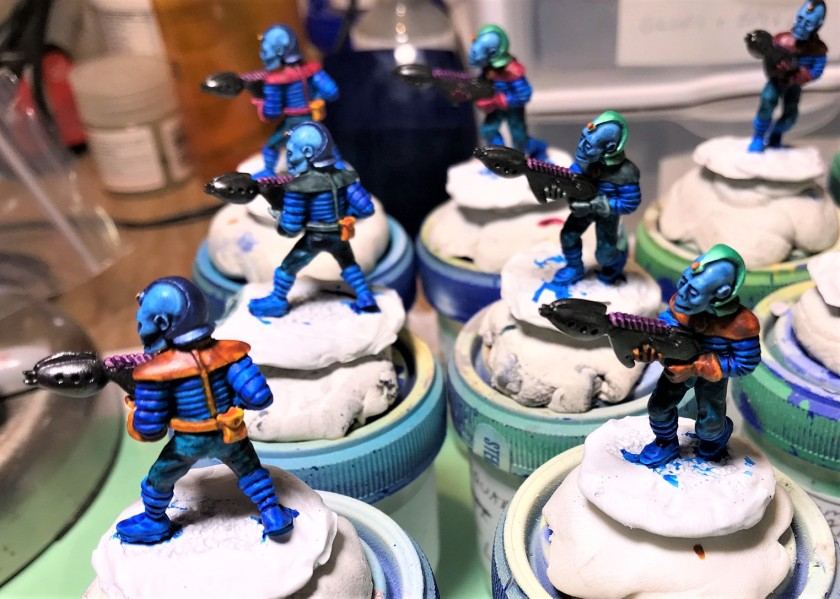 12 Retrovian Platoon further progress