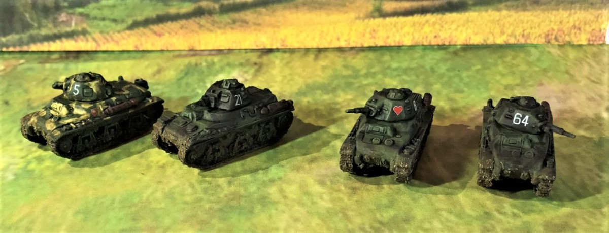 French Armor for the 80th Anniversary of the Battle of France: Hotchkiss H35 and H39 Light CavalryTanks