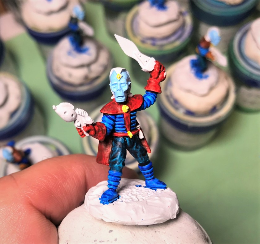 8 Retrovian Captain progress