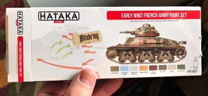 Front of Hataka set box