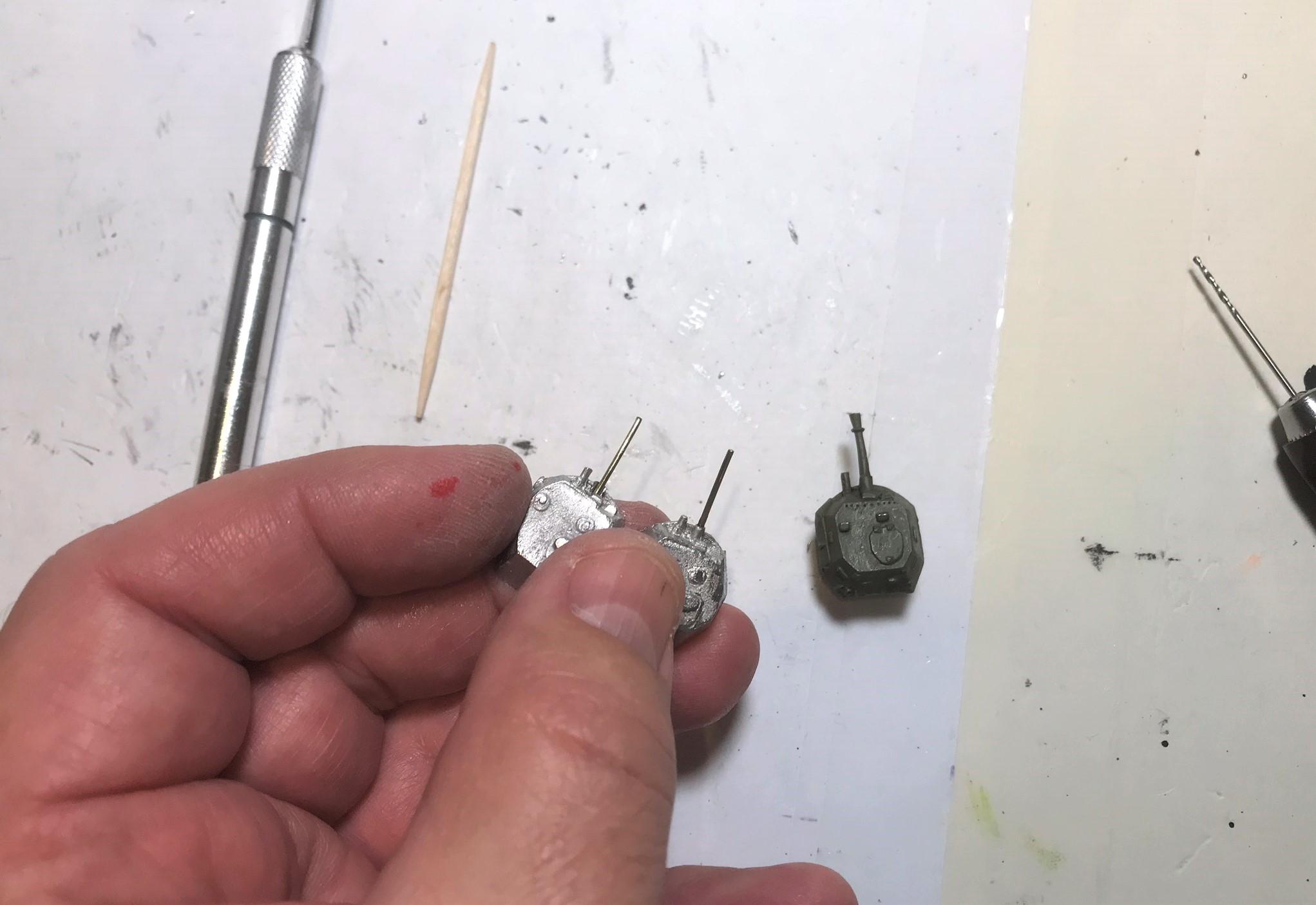 5 QRF gun repairs