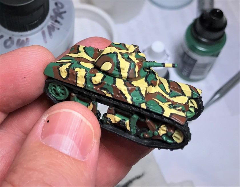 7 AMC 35 camo after brown