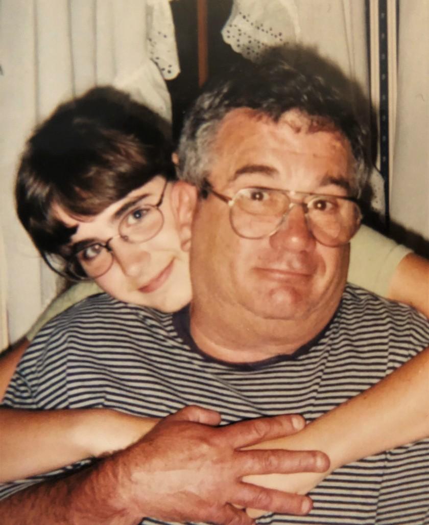 Dad and Ellen circa 1995