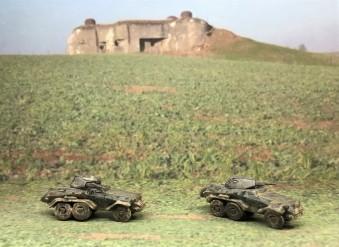 Sd.Kfz. 231 (6-rad) right sides.