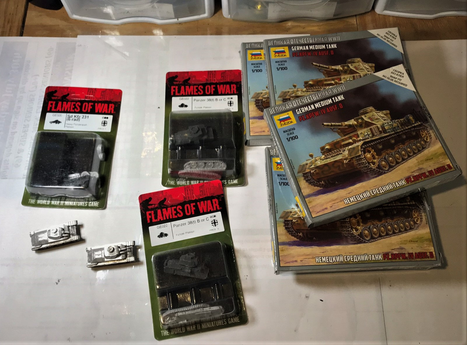 1 German armor for 1940 part two