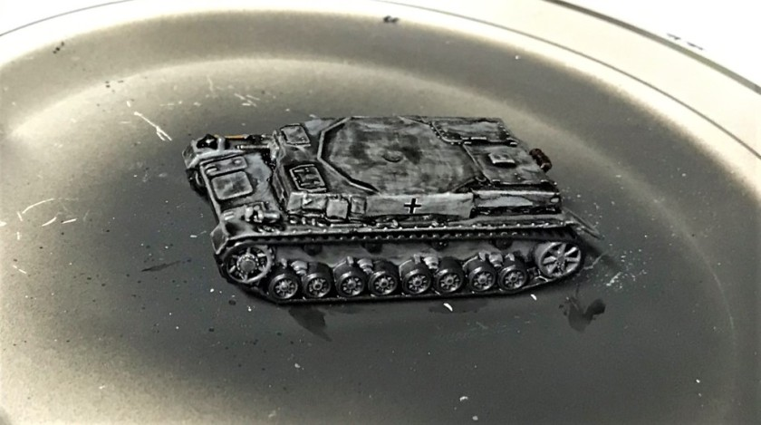 1 Panzer IVB after wash and decals