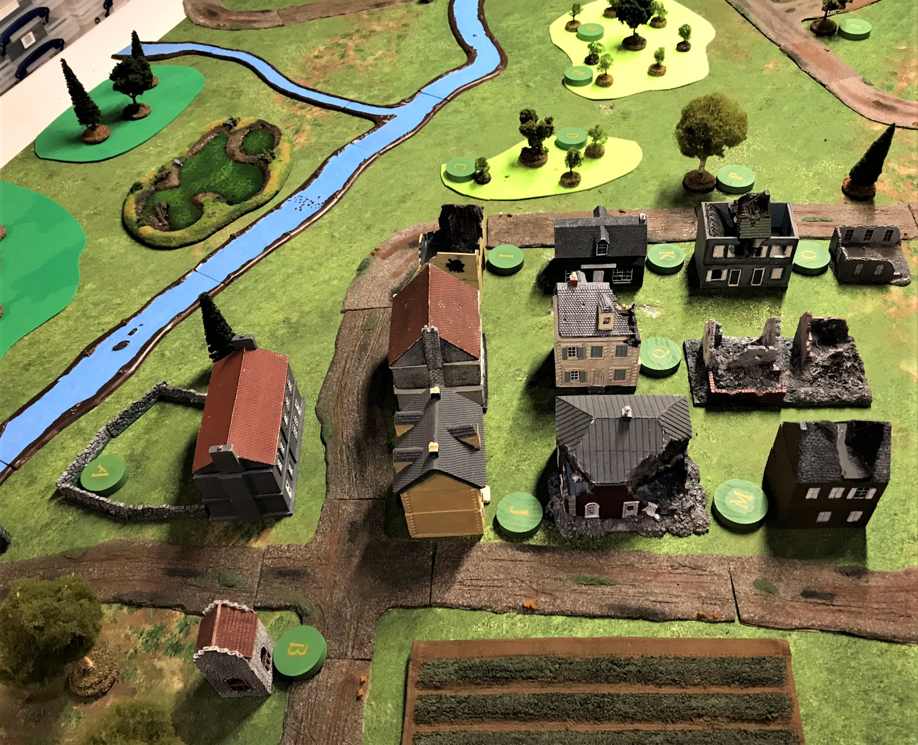 2 Battle of France set up town