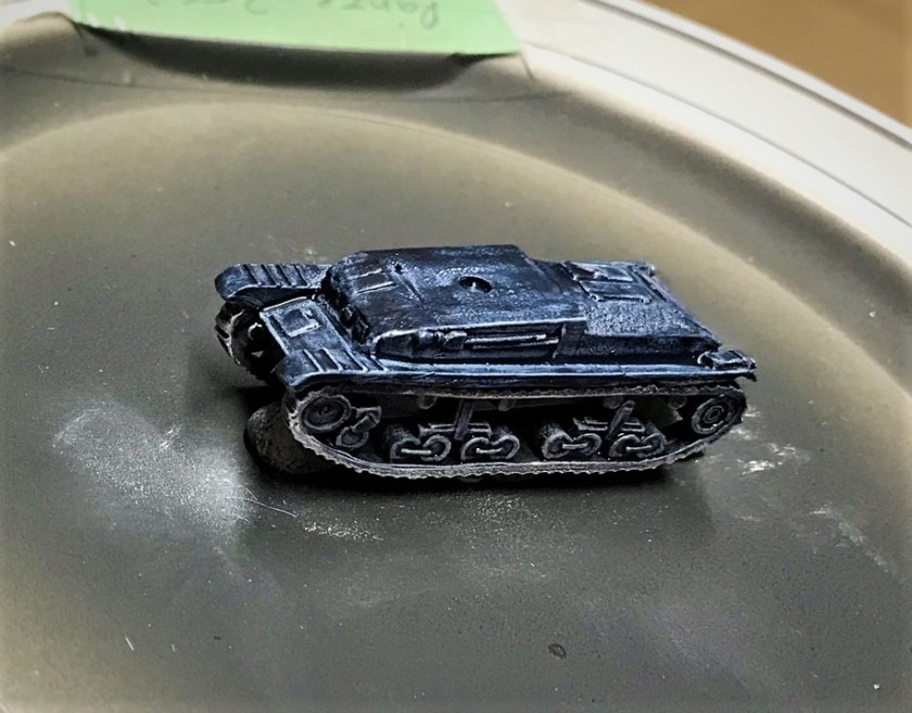 2 Panzer 35(t) with Space Wolves Grey contrast paint