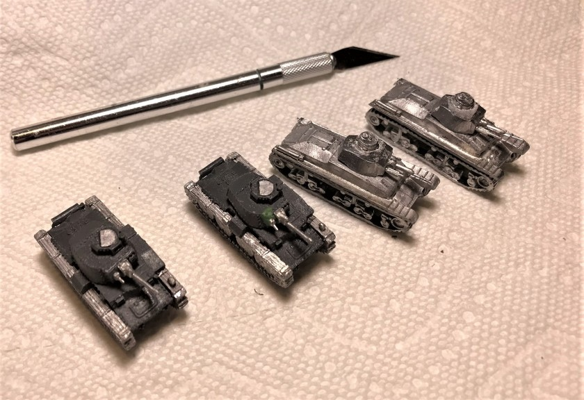 3 Czech armor assembled