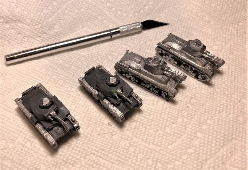 3 Czech armor assembled