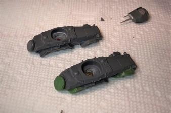 Repairs of car close up