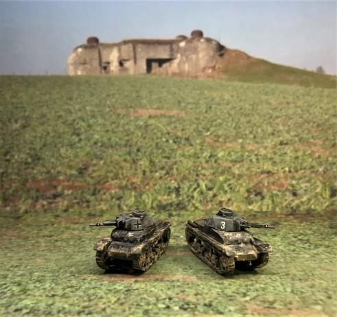 Both Panzer 35(t) models.