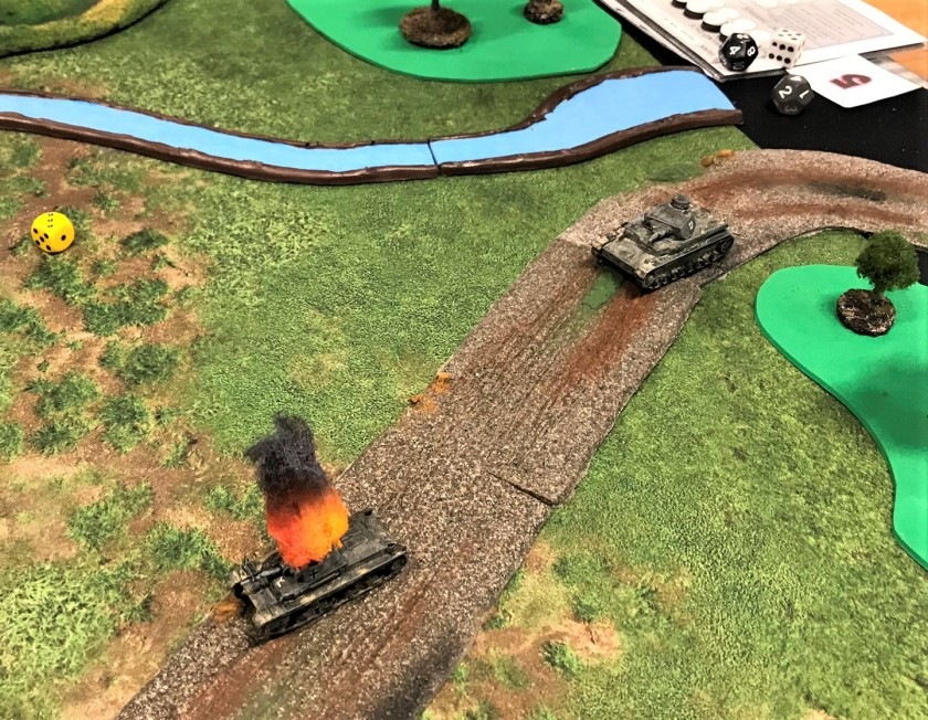 5 Battle of France Panzer 35(t) knocked out