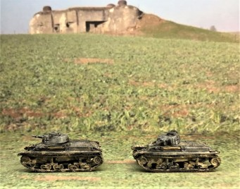 Panzer 35(t) models (left side).