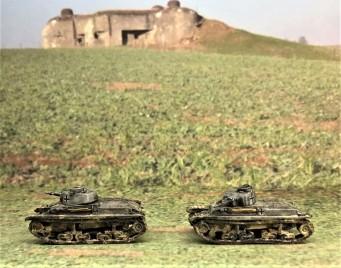 Panzer 35(t) models (left side).
