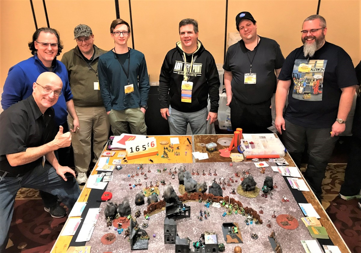 Combat Patrol and What a Tanker games – My TotalCon 34 Recap