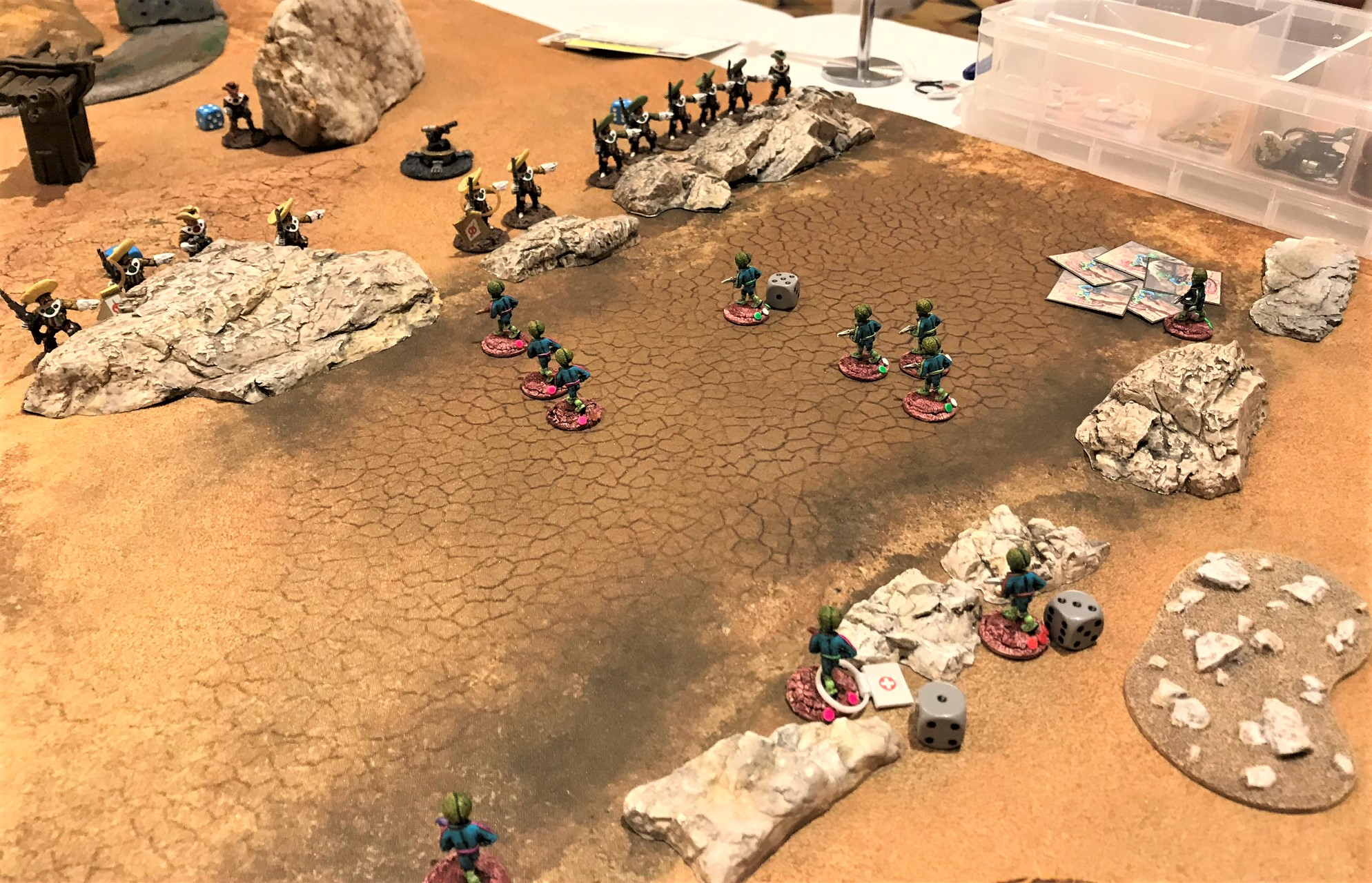 6 Martians take casualties in wadi
