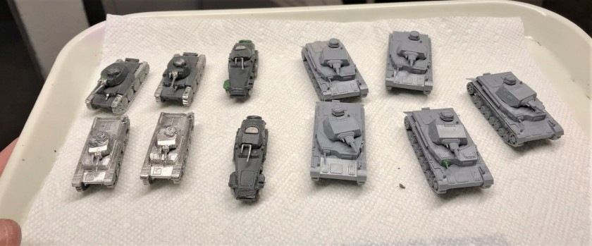 7 All assembled for painting