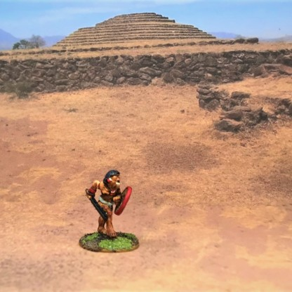 Novice w/red shield + macuahuitl advancing