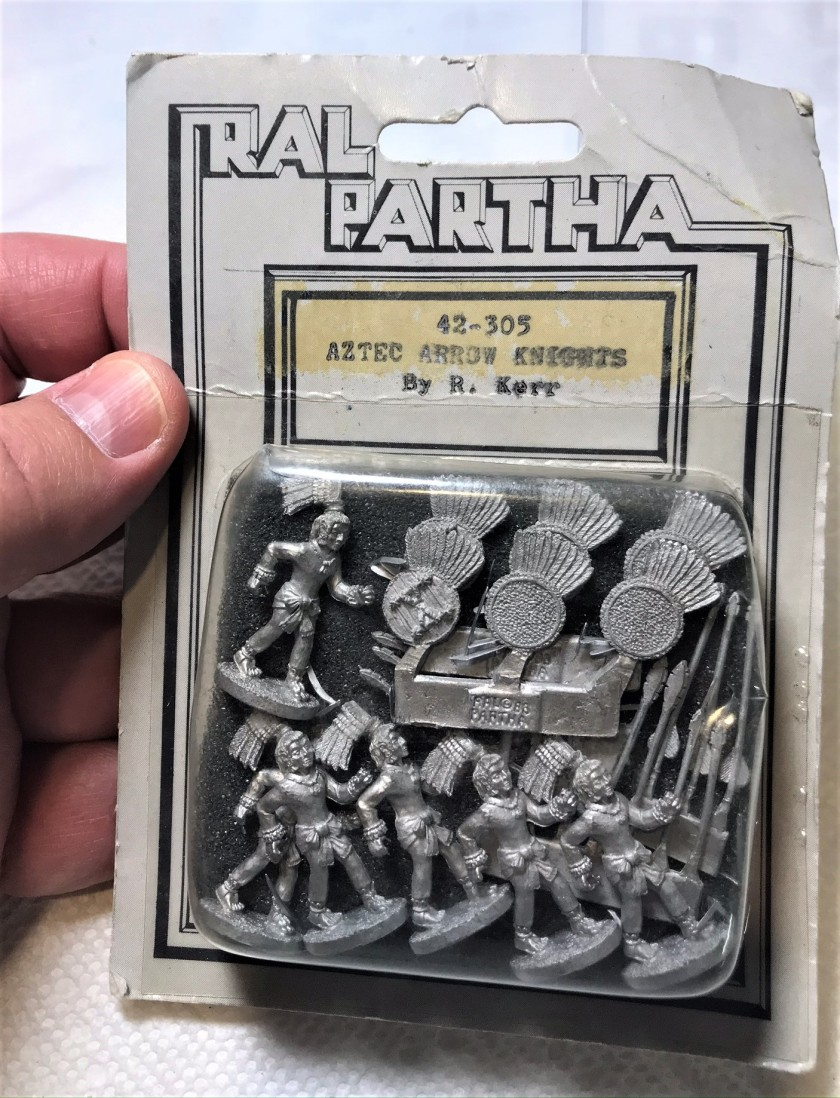 1 Ral Partha Arrow Knights 42-305 in blister