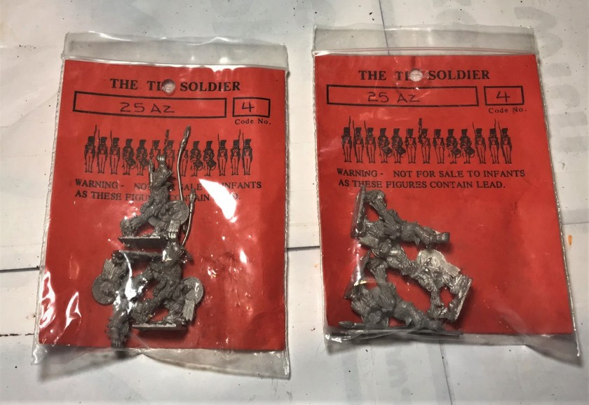 1 Tin Soldier 25AZ in bags