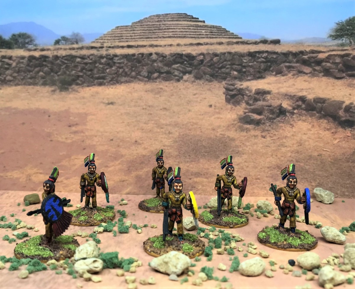 Aztec Arrow Knights, Ral Partha circa 1988