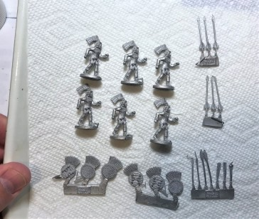 2 Ral Partha Arrow Knights 42-305 contents
