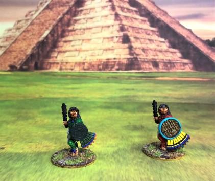 2 AZ017 Warrior 2 macuahuitl front