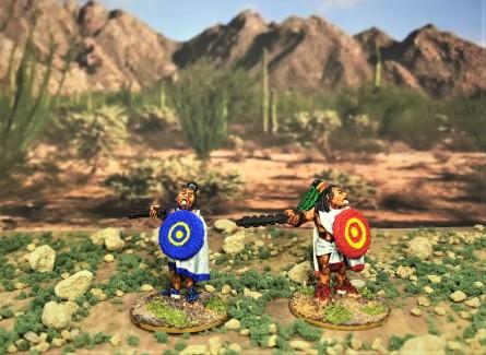 2 AZ023 Warrior 2 macuahuitl front