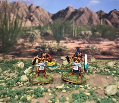 4 AZ023 Warrior 4 macuahuitl front