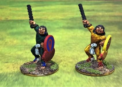 5 AZ017 Warrior 5 macuahuitl front