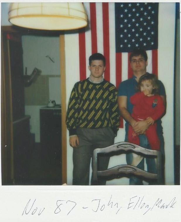 November 1987 Buck, Me, Ellen