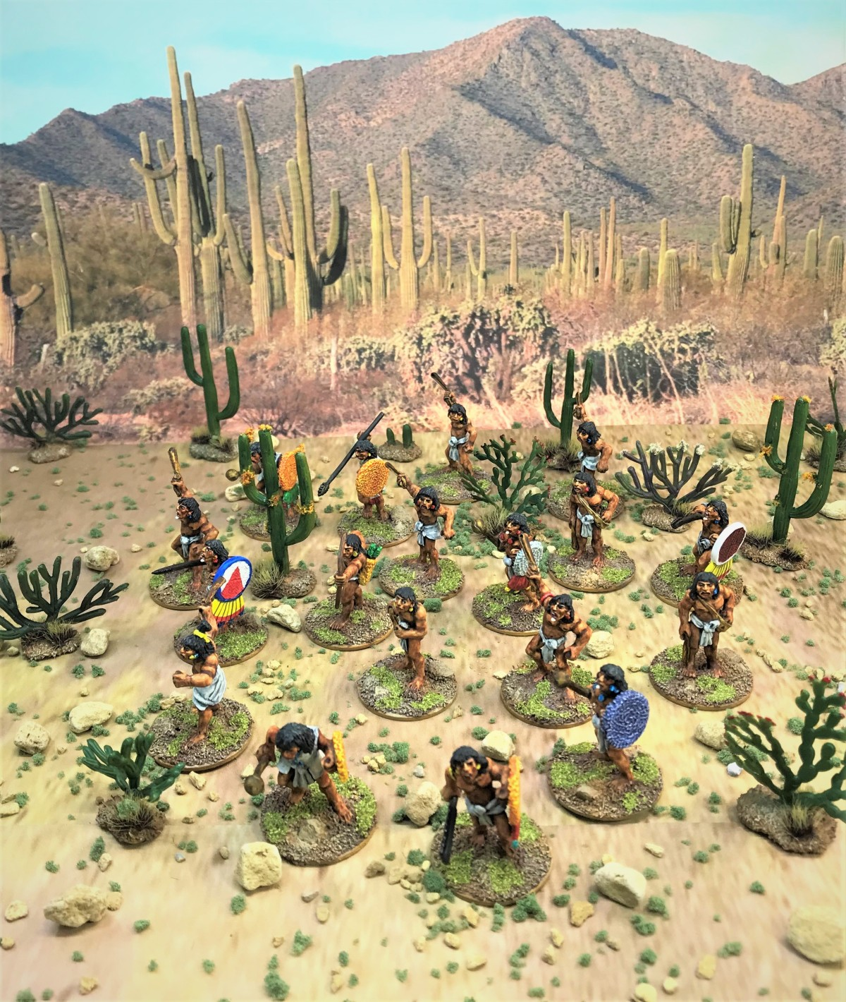 18 Aztec Novice Warriors for Feudal Patrol Walk into a Bar…