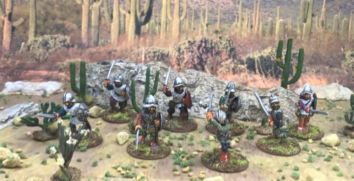 More Conquistador Sword and Buckler Men (Outpost Wargame Services)