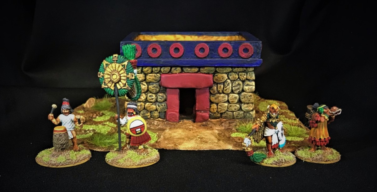 Aztec Buildings and Scatter Terrain from AchesonCreations
