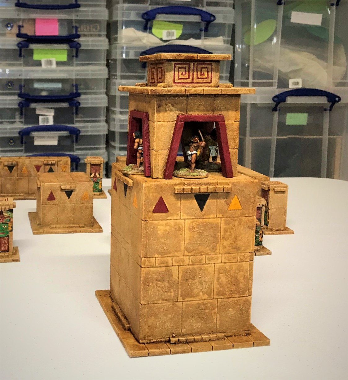 Aztec Temple Sentinel Tower & a Challenge Update