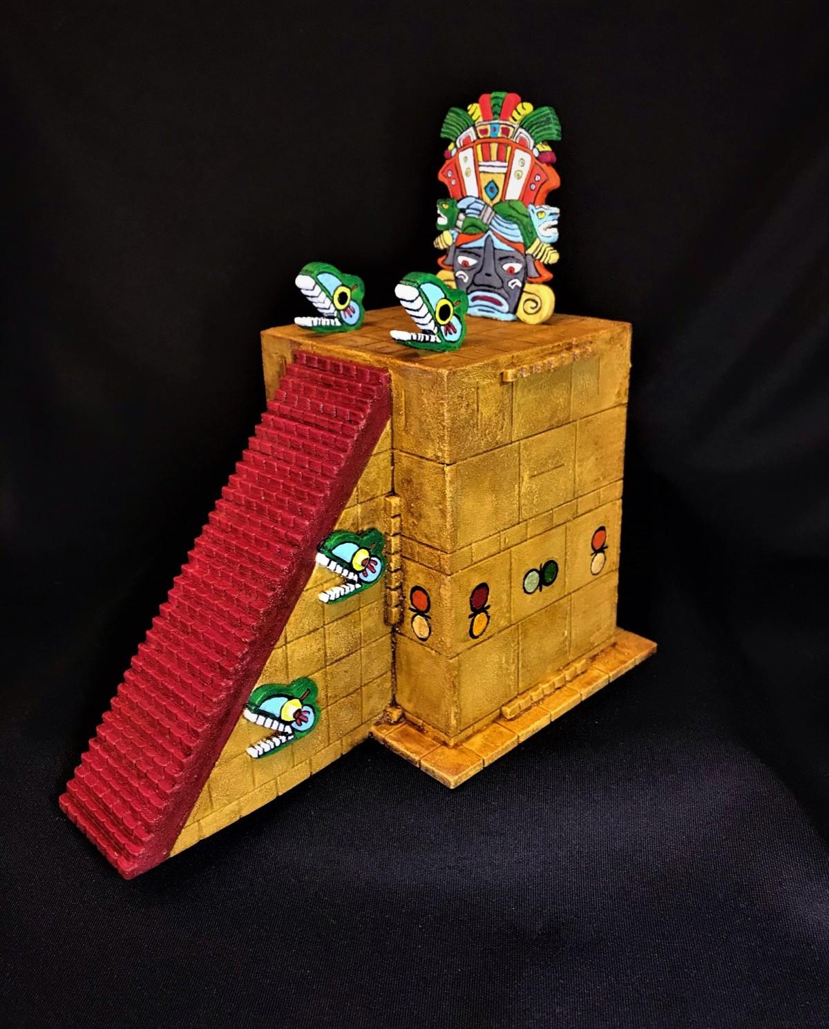 Aztec Temple HighThrone