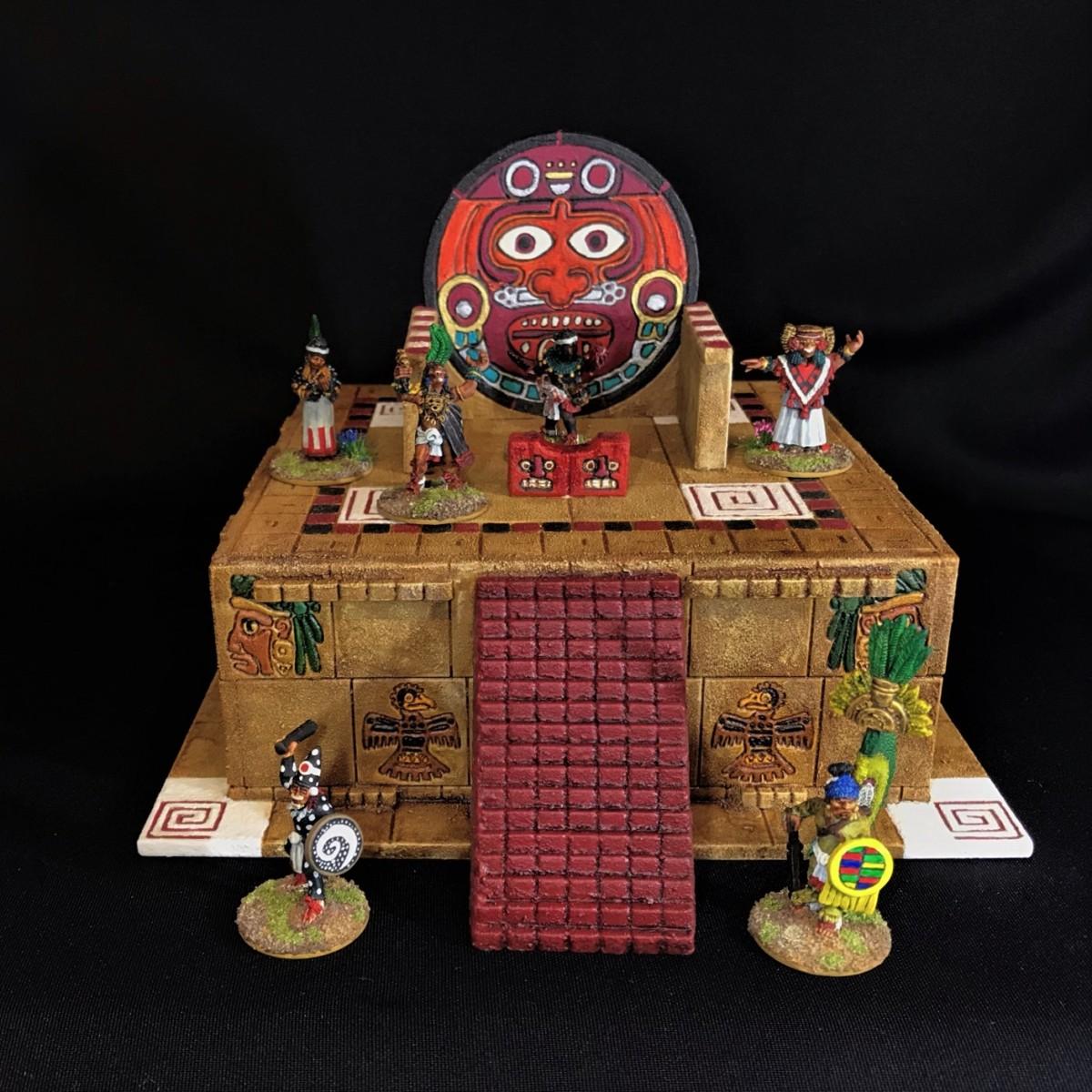 Aztec Temple SacrificialAltar