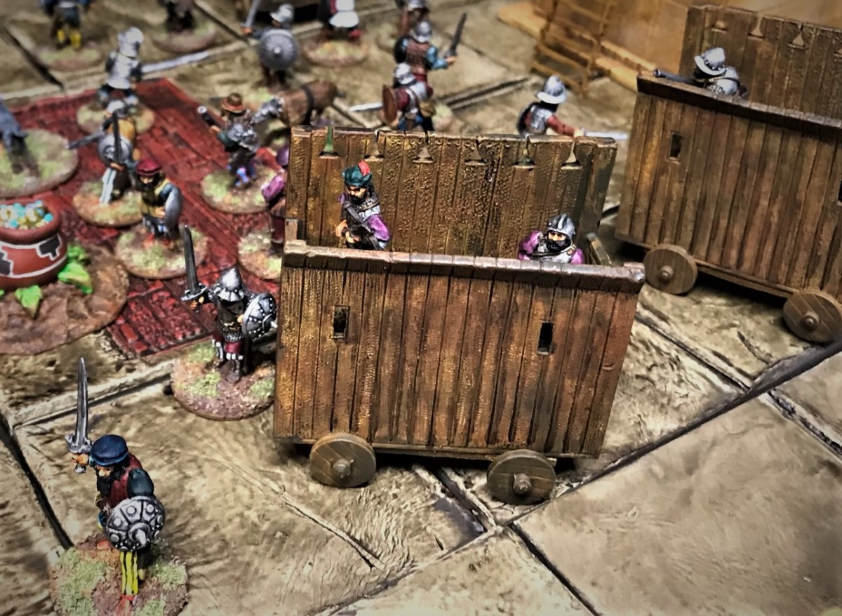 Building an Aztec Cityscape – Part 4: Cortes' WarWagons