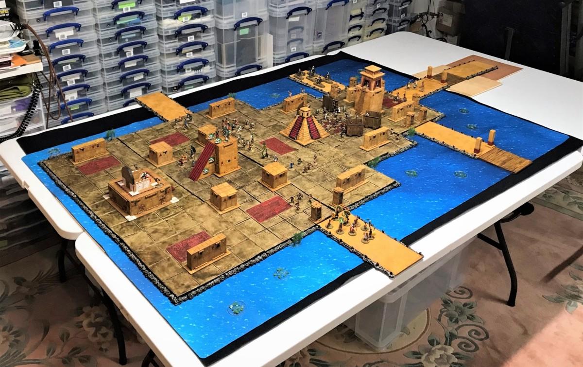 Building an Aztec Cityscape – Part 5: Tenochtitlan – THE FINALREVEAL